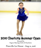 Figure Skating Club of Charlotte   -------2016 Charlotte Summer Open
